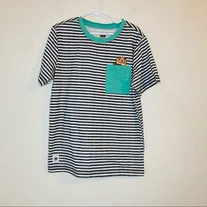Toca Boca Kids Striped T-shirt Size: M(8-10)